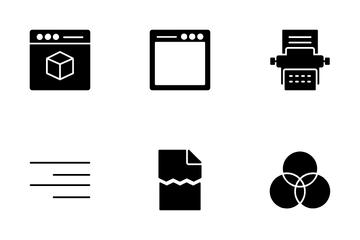 Printing Vol 1 Icon Pack