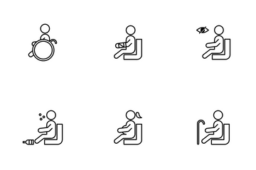 Priority Seat Icon Pack