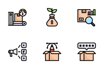 Product Management Icon Pack