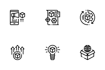 Product Manager Work Icon Pack