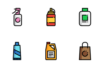 Product Packaging Icon Pack