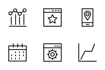Productivity And Development   Icon Pack