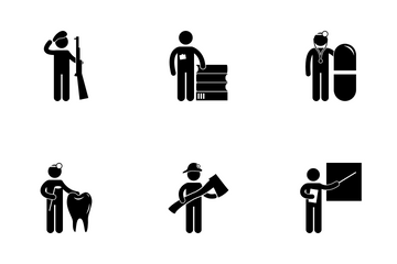 Professional Jobs Icon Pack
