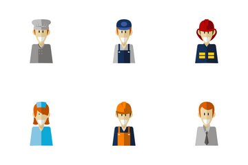Professional Worker Icon Pack