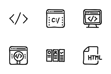 Programing Icon Pack