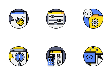 Programming And Coding Icon Pack