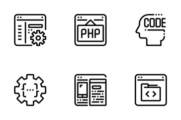 Programming And Development  Icon Pack