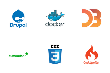 Programming Language Logo Icon Pack