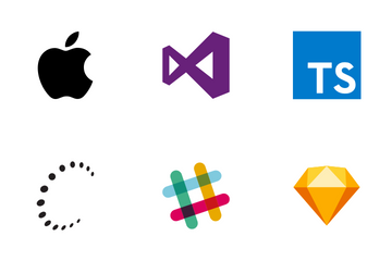 Programming Language Logos Icon Pack