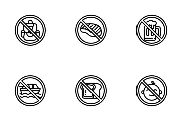 Prohibition Icon Pack