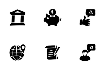 Project And Time Management Icon Pack