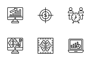 Project Management 5 Icon Pack