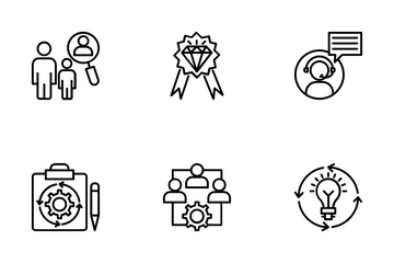 Project Management 6 Icon Pack