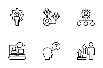 Project Management 8 Icon Pack