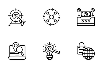 Project Management 9 Icon Pack