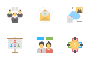 Project Management Flat Icons 1 Icon Pack