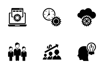 Project Management Icons Pack 2 Icon Pack