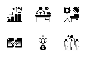 Project Planning Icon Pack