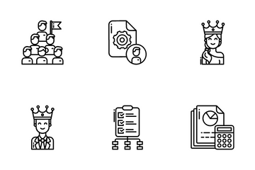 Project Work Icon Pack