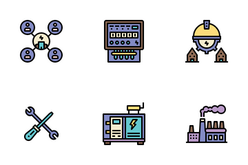 Provincial Electricity Authority Icon Pack