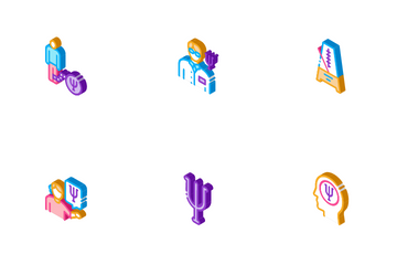 Psychotherapy Help Icon Pack