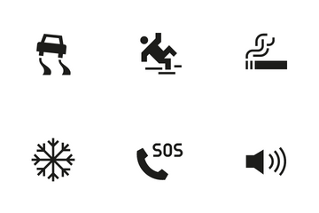 Public Sign 3 Icon Pack