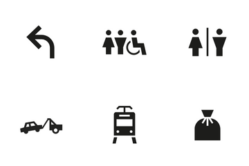 Public Sign 4 Icon Pack