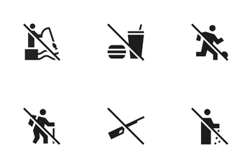 Public Sign 5 Icon Pack