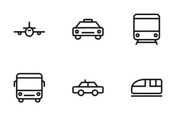 Public Transport Icon Pack