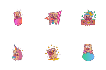 Pug Icon Pack