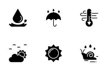 Rainy Season Icon Pack