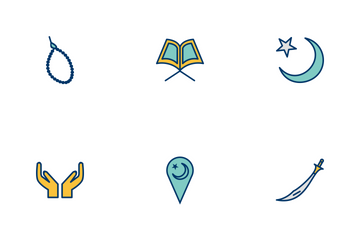 Ramadan And Eid  Icon Pack