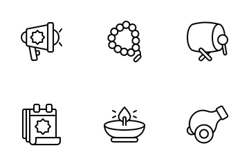 Ramadan And Eid Icon Pack
