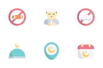 Ramadan And Eid Mubarak Icon Pack