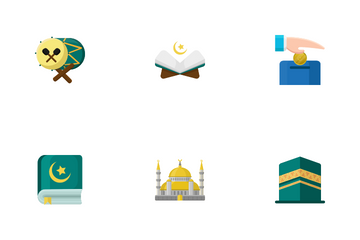 Ramadan And Islamic Icon Pack