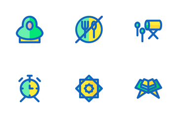 Ramadan (Filled Line) Icon Pack