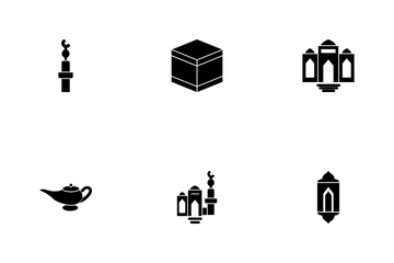 Ramadan Islamic Glyph P1s3 Icon Pack