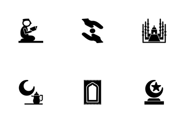Ramadan Islamic Glyph P3s3 Icon Pack