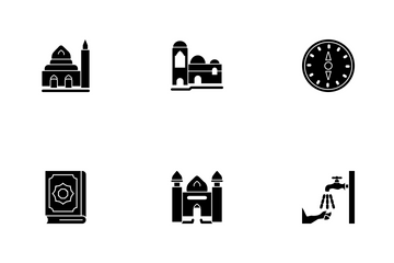 Ramadan Islamic Glyph P4s3 Icon Pack