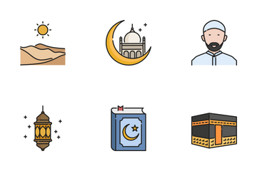 Ramadan Kareem Icon Pack