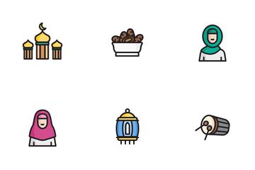 Ramadan Moslem Islam Icon Pack