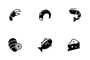 Raw Food Tender Icon Pack