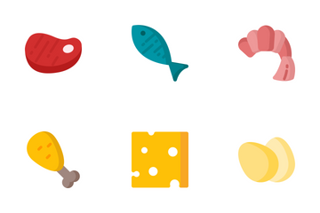Raw Foods Icon Pack