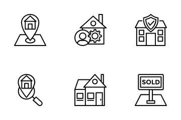 Real Estate 1 Icon Pack