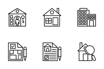 Real Estate 2 Icon Pack