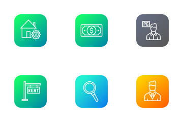 Real Estate  Icon Pack