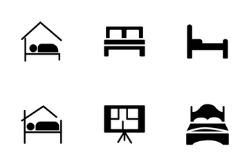 Real Estate Glyphs Icons Set 3 Icon Pack