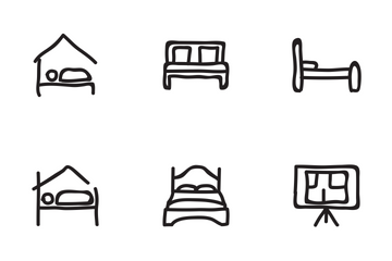 Real Estate Hand Drawn Set 3 Icon Pack