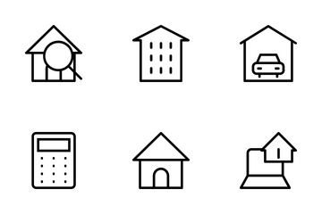 Real Estate Icons Icon Pack