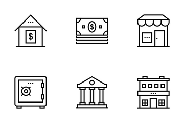 Real Estate Line Icons 2 Icon Pack